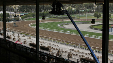 Santa Anita was closed after a spate of horse deaths since late last year.