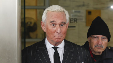 Roger Stone, former campaign adviser for President Donald Trump.