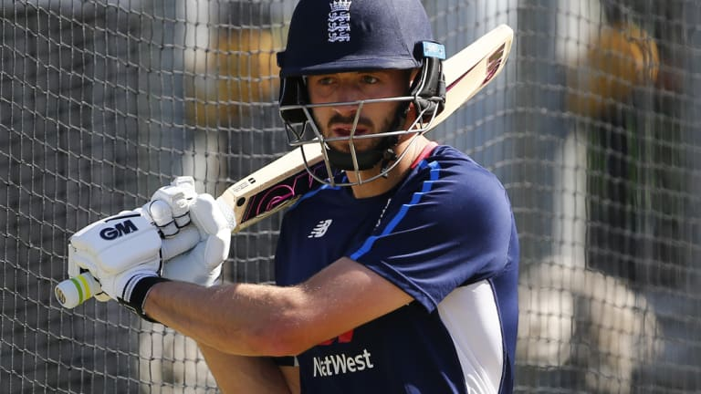 Replacement: countryman James Vince has taken Joe Denly's spot at the Sydney Sixers.