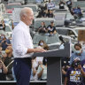 Invitation only: while Trump goes big, Biden's rallies remain exclusive affairs