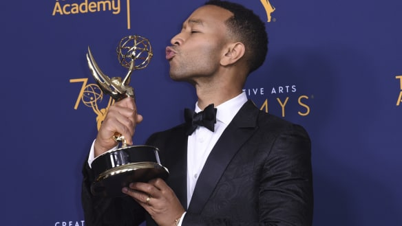 With Emmy win, John Legend joins rare EGOT class