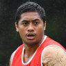 Injury scare for Milford as Brisbane ramp up pre-season