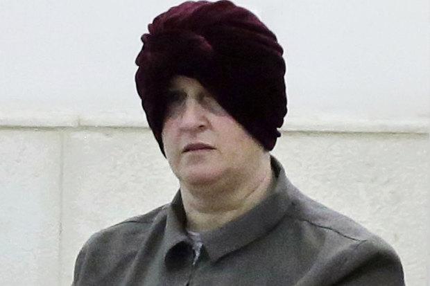 Malka Leifer appears in a Jerusalem court in February 2018.