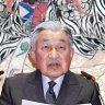 Japanese emperor celebrates his last birthday on throne