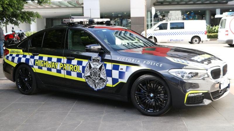 Vic police highway patrol cars