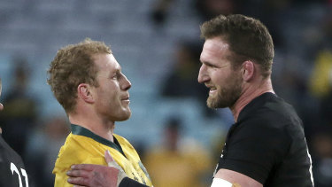 New Zealand captain Kieran Read (right) has been among the critics of the proposed league.