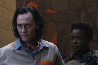 Tom Hiddleston is a distinctly English kind of Norse god in Loki.