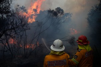 Bushfire season has started early in parts of NSW, due to warm and dry conditions.