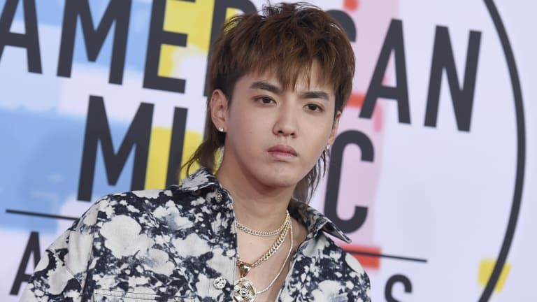 Canadian-Chinese musician Kris Wu.