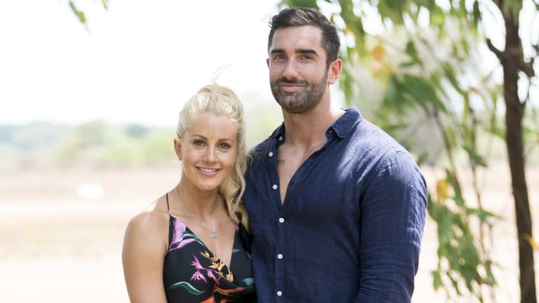 Ali Oetjen and Taite Radley declared their love for each other in Thursday's Bachelorette finale.