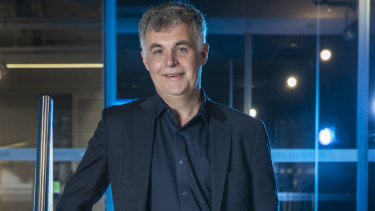 Stephen Rue is the chief executive of the NBN Co.