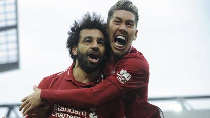 'Disgusting': Rivals unite after racial abuse of Salah
