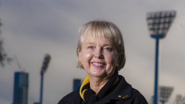 Peggy O'Neal, Richmond football club president, has been named chancellor of RMIT University.