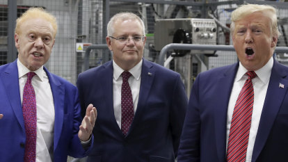Morrison's US trip had to navigate between two extremes