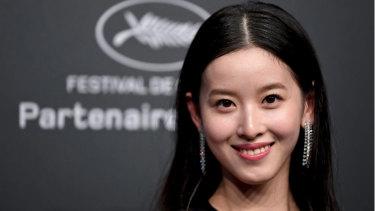 Zetian Zhang, wife of Liu Qiangdong.