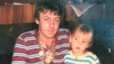 Drug dealer Dennis Bruce Allen with Jade.