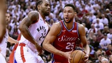 Ben Simmons could break Australian records with the deal.