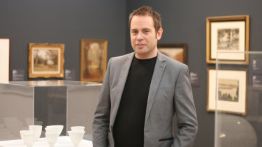Gippsland Art Gallery director Simon Gregg: 'They always expect us to visit them.'