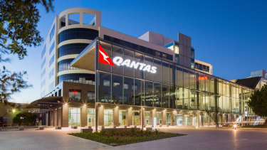 Qantas headquarters at Mascot, Sydney, is owned by Cromwell Property Group.