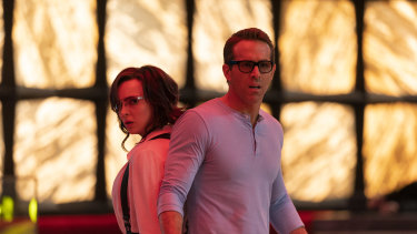Out in December: Jodie Comer and Ryan Reynolds in Free Guy.