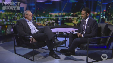 The half-hour, commercial-free TV interview between Scott Morrison and Waleed Aly was tense and awkward at times.