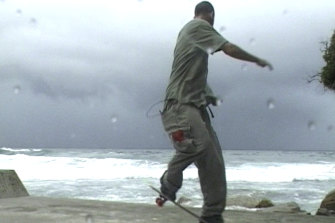 Shaun Gladwell's Storm Sequence (2000).