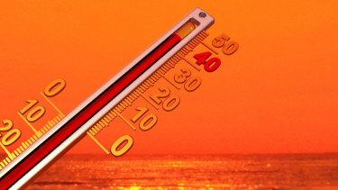 An unseasonal autumn heatwave has seen temperatures soaring across southeast Queensland