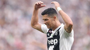 Cristiano Ronaldo has rejected an accusation of rape.