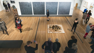'We might be someone's only experience of an art gallery,' says Gippsland Art Gallery director Simon Gregg.
