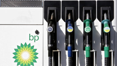 BP is preparing for declining sales of fossil fuels.