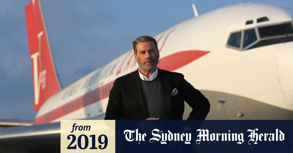 High Flying John Travolta S Flying Kangaroo Grounded