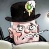 Scott Morrison must beware of Churchill syndrome