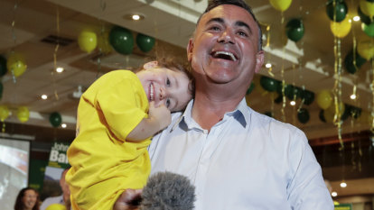 'Don't stress': Nationals leader John Barilaro has convincing win in Monaro