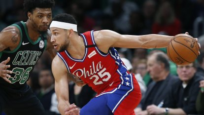NBA wrap: Simmons stars in 76ers' loss to the Celtics