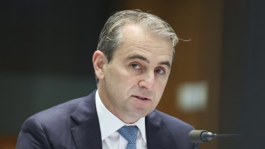 CBA chief executive Matt Comyn says Parliament must pay close attention to the rules Apple places around access to its smartphone infrastructure.