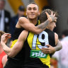 Tigers bombard woeful Suns and win hefty percentage boost