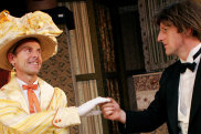 Jon Haynes, left, and David Woods in an earlier production of <i>The Importance of Being Earnest</i>.