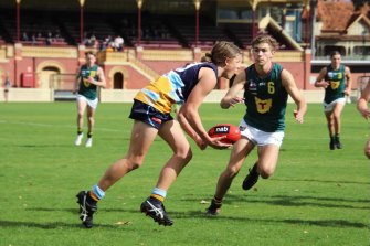 Bendigo's Jack Ginnivan (with ball in hand) hopes for a double celebration on December 9.