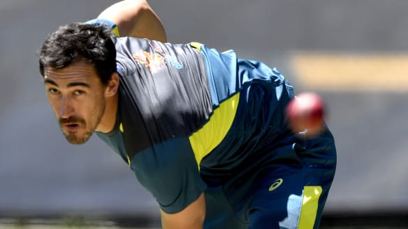 Starc workout contradicts calm over concerns for Australian spearhead