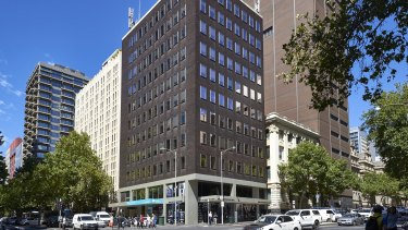 The building is fully leased and returns an annual income of $1,815,365.