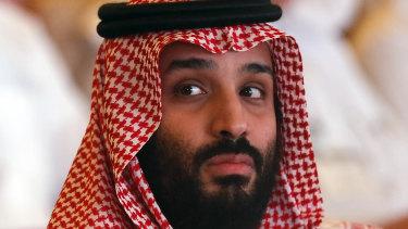 Saudi Crown Prince, Mohammed bin Salman.