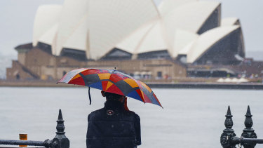 You can assume you'll get wet at some point this week in Sydney.