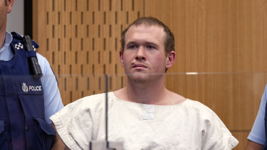 Brenton Tarrant, here at an earlier court hearing, has pleaded guilty.