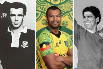 Australian rugby has had a strong and shining input from Indigenous players such as Lloyd McDermott, Kurtley Beale and Mark Ella.