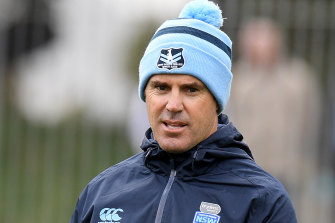 Blues coach Brad Fittler has pondered long and hard about how to use his forwards in game three.