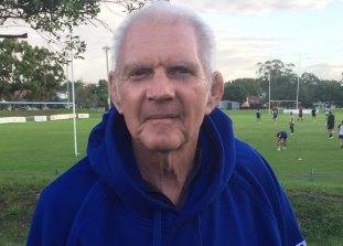 Two Blues legend: Dennis 'Muncher' Garlick.