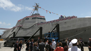 Austal currently has major deals to supply vessels to the US Navy.