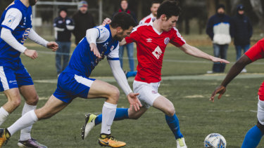 Canberra FC and Canberra Olympic will meet for the fifth time this season in the grand final on Saturday.