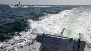 Russia fires on Ukrainian ships in Black Sea, seizes vessels