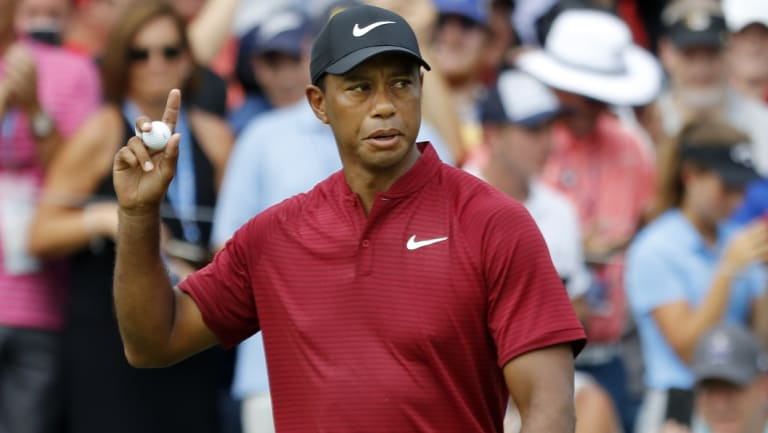 """I feel my next wins are coming soon"": Tiger Woods."